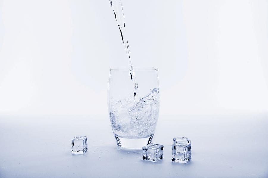 water drinken